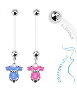 piercing nombril de grossesse, femme enceinte body