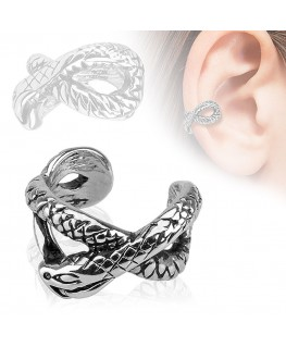 faux piercing oreille serpent