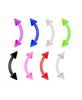 Piercing arcade pointes spike UV