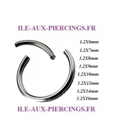 anneau piercing segment