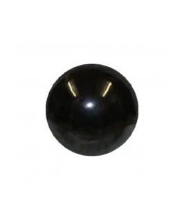 Boule noir piercing acier chirurgical 316L